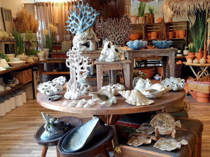 keramik i butiken